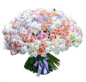 301 rožė - Gėlių pristatymas į namus Ukmergėje
