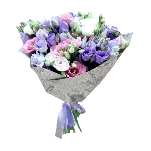 Eustomos Mix - Gėlių pristatymas į namus Marijampolėje