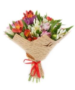 Alstromerijos Mix - Gėlių pristatymas į namus Kėdainiuose