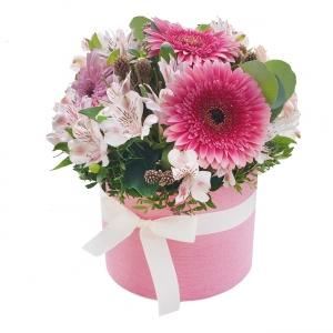 Gėlių dėžutė Smagumėlis - Gėlių pristatymas į namus Šiauliuose