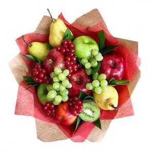 Valgoma/Nevalgoma puokštė Žiupsnelis nuotaikos - Gėlių pristatymas į namus Kėdainiuose