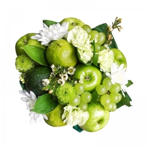 Valgoma/Nevalgoma puokštė Drovumas - Gėlių pristatymas į namus Kėdainiuose