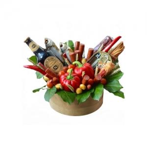 Valgoma dėžutė vyrams - Gėlių pristatymas į namus Tauragėje