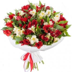 Alstromerijos Gražumėlis - Gėlių pristatymas į namus Marijampolėje
