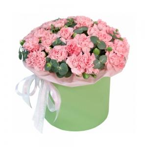 Rausvoji aušra - Gėlių pristatymas į namus Mažeikiuose