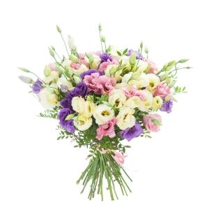 Eustomų miksas - Gėlių pristatymas į namus Mažeikiuose