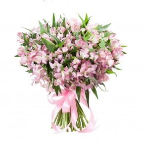 Alstromerijos - Gėlių pristatymas į namus Marijampolėje