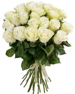 Balta klasika - Gėlių pristatymas į namus Vilniuje