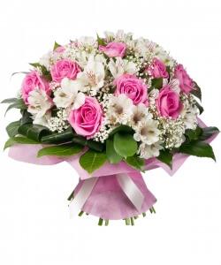 Laiminga istorija - Gėlių pristatymas į namus Utenoje