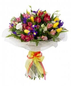 Nuostabus vakaras - Gėlių pristatymas į namus Šiauliuose