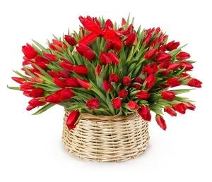 Pavasario daina - Gėlių pristatymas į namus Vilniuje