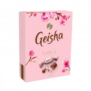 Pien.šokolado saldainiai FAZER GEISHA su lazdyno riešutų įd., 150 g