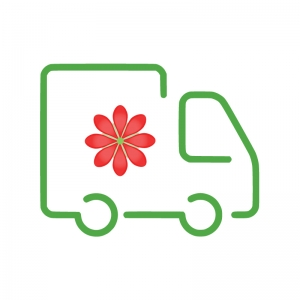 Pristatymo paslauga - Gėlių pristatymas į namus Utenoje