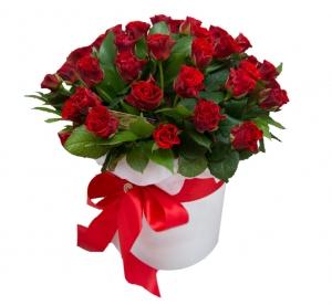 Raudonos rožės dėžutėje 35