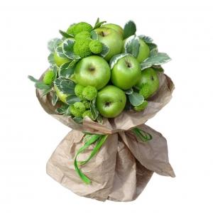 Valgoma/Nevalgoma puokštė Rojaus obuoliukai - Gėlių pristatymas į namus Utenoje